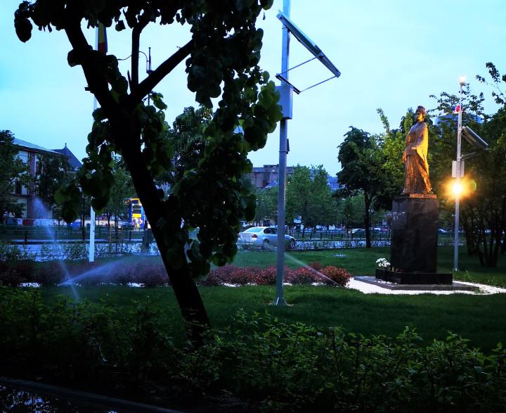 Aspersoare în ploaie - Sprinklers in the rain